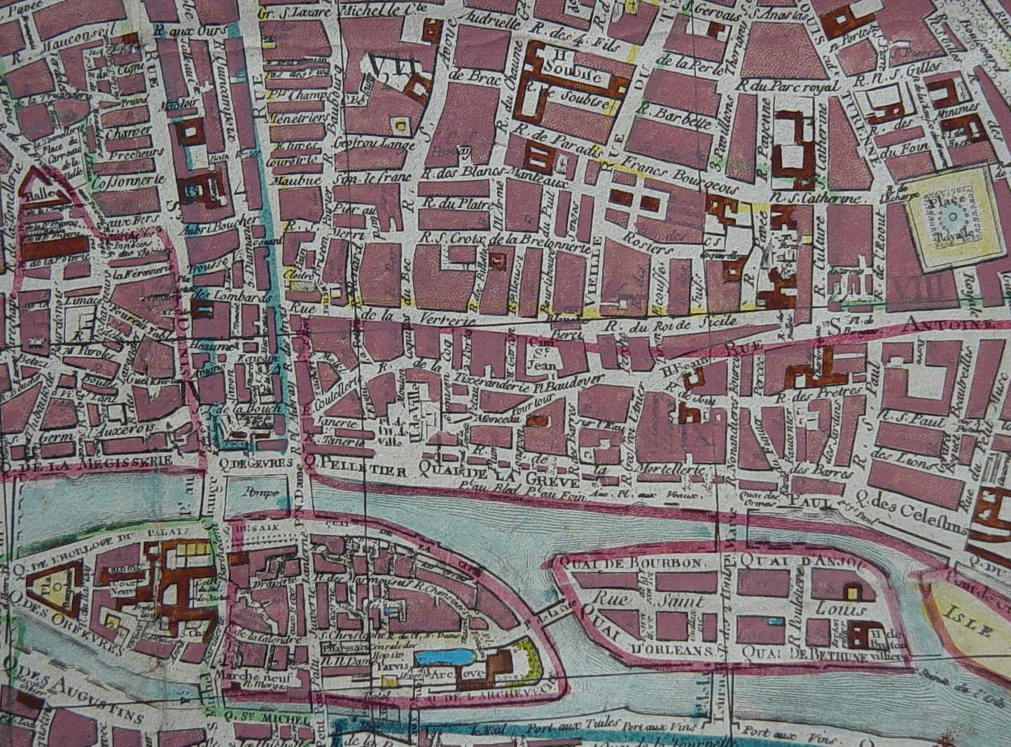 Plans historiques de paris for Les photos de paris